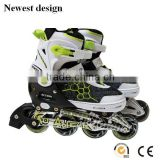 New Style Adjustable Inline Skate with Ventilate Mesh Boots Popular Inline Skates Roller Shoes Sports Shoes for Entertainment
