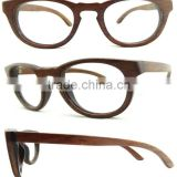 Fashionable Natural Color Eyeglasses Bamboo Frames,Bamboo Sunglasses Dropshipping From China