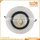 wholesale price aluminum round recessed dimmable 5w 10w 20w 30w cob led light downlight                                                                                                         Supplier's Choice