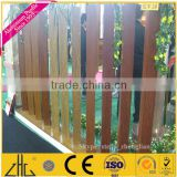 Top ten factory Zhonglian name aluminium profile prices aluminum railings for balconies/wood color aluminum gates fence rails