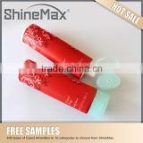 cosmetic soft plastic packaging tube shower gel with adjusted cap