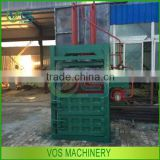 hydraulic pressure cotton packing machine /waste paper baler /cotton baling machine in China