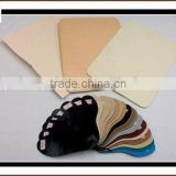 multi colors toe puff and counter material use for shoes and bags