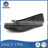 Choozii Wholesale Fashion Any Size Pure Black Dress Shoes for Girls