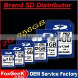 Distribute Brand SD Memory Card 2 4 8 16 32 128 256 m mb G GB Class 10 6 with Blister Packing,micro Capacity SD Card price