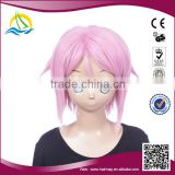 Factory price clip on ponytail cosplay hair wig