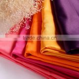 Customized cheap thin waterproof polyester pandex stretch satin fabric price per yard factory wholesale