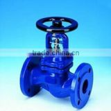 Good price din bellow sealed globe valves