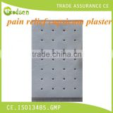 special formula Chinese herbal pain relief plaster for health in real manufacturer of China