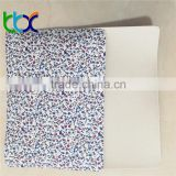 Colorful Printing Fabric with EVA for Shoes, Fabric with EVA material