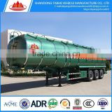 Factory manufacturing 58.5cbm 59.52cbm LPG tank trailer,liquid propane gas tanker for sale