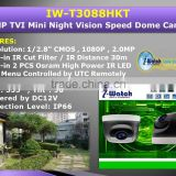 IW-T3088HKT HD 1080P PTZ Mini Auto Focus Speed Dome TVI Camera