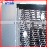 Black polyester powder coated 316 marine grade stainless steel wire mesh (ANPING FACTORY)