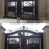 Salable Decorative Good-quality Electrical Gate and Sliding Gate and Automatic Iron Gate For Factory