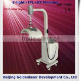 2013 New design E-light+IPL+RF machine tattooing Beauty machine console table with mirror