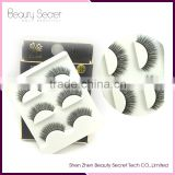 100% mink false eyelash extension glue Silk Lashes Packaging