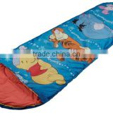 Kids/Childre Sleeping Bag T/C Polyester peach skin Sleeping bags Waterproof sleeping bag