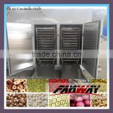 Industrial steam heating or electric heat apricot drying machine with factory price