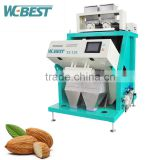 Cumin Color Sorter/Cardamom Color Sorting Machine/Small Almond Apricot Food Processing Machinery