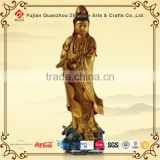 Resin standing large buddha statue