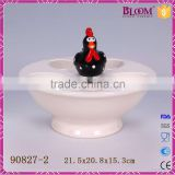 High quality ceramic egg tray,ceramic egg holder