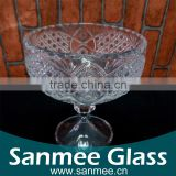 Low Price China Manufacture Cheap Goblet Shape Glass Vase