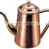 Copper Coffee Tea Pot Copper Pot Copper Kettle Coffee Pot Tea Pot Copper Server