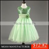 MGOO New Arrival 2016 Christmas Girl Dress Sequin Sleeveless Ball Gown Tutu Ballet Costume Stocklot MGT028-2