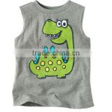 boys sleeveless cartoon t shirts kids jumping beans tops animail printed t-shirts