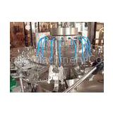 Electric 3 In 1 Washing Filling Capping Machine Production Line for Round / Square PET Bottle