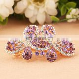 2016Latest Fashion Rhinestone Barrette Hair Clip