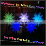 2014 hanging party inflatable LED star