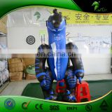 Latest Blue PVC Dragon Suit Hongyi Inflatable Animation Costume