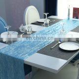 polyester restaurant table cloth for wedding decoration