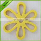 Silicone Kitchenware Flower Shape Pot Mat