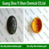 Zinc alloy  imitation gold agent Zinc material imitate golden Zinc alloy chemical imitation golden yellow