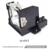 High quality Replacement Projector Lamp with housing For Canon Lv-7555 Projector (LV-LP17)