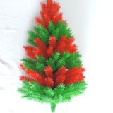 Artificial christmas half tree