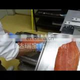 Pneumatic Inclined Cutting Machine with High Quality,Chicken Breast/Salmon/Cuttlefish Slicing Cutter Machinery