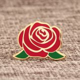 Rose Custom Lapel Pins