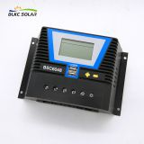 BSC6024/BSC6048 PWM 50A 60A Solar Panel Charge Controller 12V 24V 36V 48V Auto with USB
