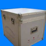 Production Road Case 19 Inch Flight Case Surface Strip / Plain