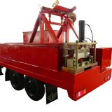KR18 Roll forming machine roof arch sheet machine with trailer and Diesel generator