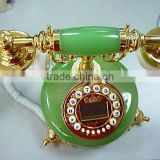 home decor antique telephone lamp