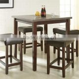 American style new design bar table and chairs