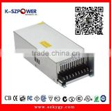 2015 K-65 400w series ygy power supply YGY-241500 constant voltage /current 24V 15a power supply