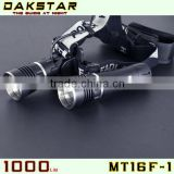 DAKSTAR New Arrival Hot Sale MT16F-1 CREE XML T6 1000LM 18650 Rechargeable High Power LED Head Light Bike