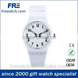 cheap plastic childrens' wrist watch with client's logo promotional children watch