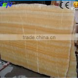 Natural Polished Yellow Onyx Marble Big Slab