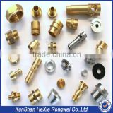 china custom made cnc machining brass parts / precision turning spare part